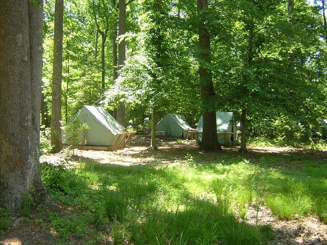 File:Summer camp tents.jpg