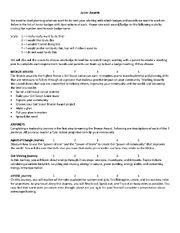 Planning Evaluation form Juniors pic