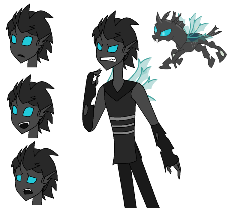 how to draw a changeling