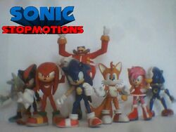 Sonic Stopmotions Cast Picture