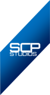 SCP Studios Very New Logo