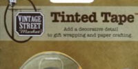 Linen Tinted Tape