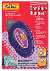 Adhesive Technologies - Dot Glue Runner - Repositionable - 8