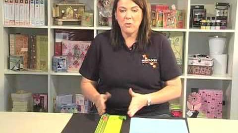 Scrapbook.TV - How to Use a Paper Trimmer