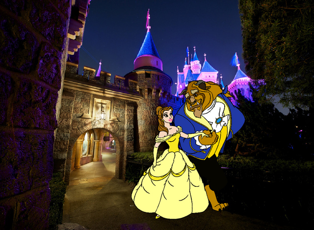 File:Belle and Beast join Disneyland.PNG