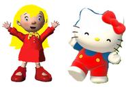 Mary and Hello kitty