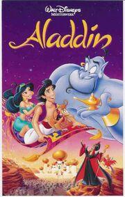 Aladdin on VHS