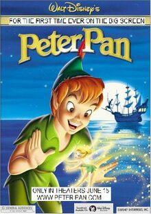 Peter Pan 2001 Re-Release Poster