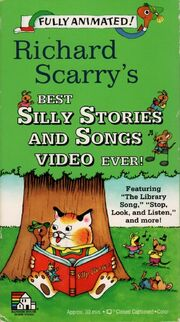 Richard Scarry's Best Silly Stories and Songs Video Ever VHS Cover