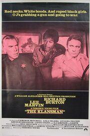 1974 - The Klansman Movie Poster 2