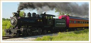 Train Festival 2009 - Little River RR 4-6-2 No. 110