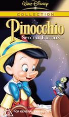 Pinocchio 1992 VHS