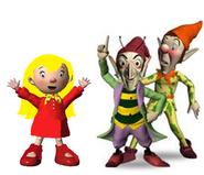 Mary, Sly and Gobbo