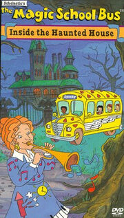 The magic school bus inside the haunted house lionsgate dvd