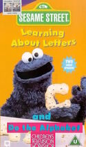 Learning about letters do the alphabet 1996 uk vhs