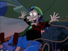 Stu's comical yell
