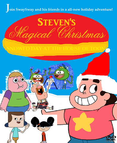 File:Steven's Magical Christmas New DVD Cover.png