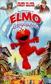 The Adventures of Elmo in Grouchland VHS