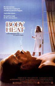 1981 - Body Heat Movie Poster