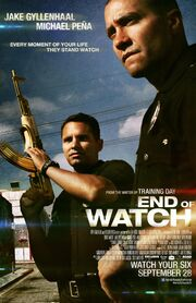2012 - End of Watch Movie Poster