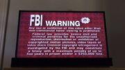 Fox Red FBI Warning
