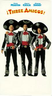 Three Amigos VHS