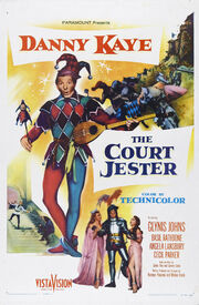 1956 - The Court Jester Movie Poster