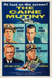 1954 - The Caine Mutiny Movie Poster