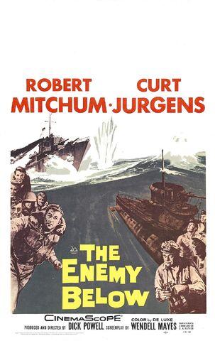 File:1957 - The Enemy Below Movie Poster.jpg