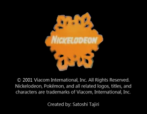 Nickelodeon logo from Snow Rescue