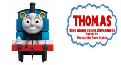 Thomas' Sing Along Adventures logo