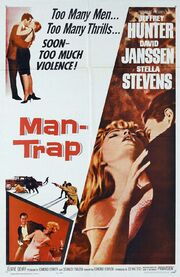 1961 - Man-Trap Movie Poster
