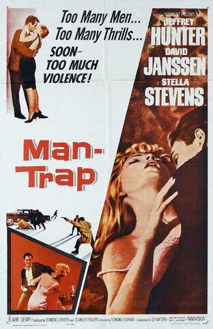 File:1961 - Man-Trap Movie Poster.jpg