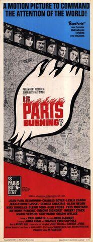 File:1966 - Is Paris Burning Movie Poster.jpg