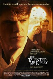 1999 - The Talented Mr. Ripley Movie Poster