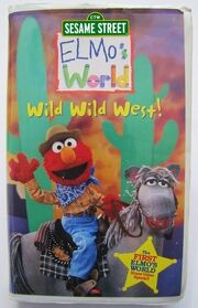 Elmos World Wild Wild West 1998 VHS