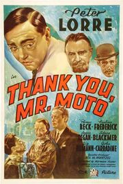 1937 - Thank You, Mr. Moto Movie Poster
