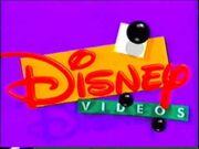 Disney Videos UK Logo forming
