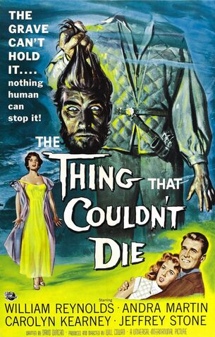 File:1958 - The Thing That Couldn't Die Movie Poster.jpg