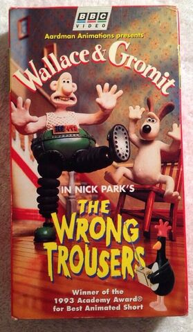 File:The Wrong Trousers VHS.jpg