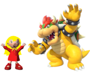 Mary and Bowser
