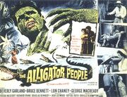 1959 - The Alligator People Movie Poster