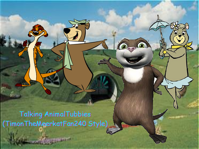 File:Talking AnimalTubbies (TimonTheMeerkatFan240 Style) Poster.png