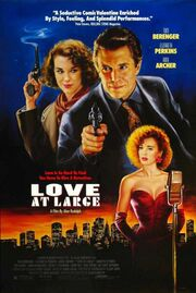 1990 - Love at Large Movie Poster