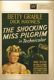 1947 - The Shocking Miss Pilgrim DVD Cover (2013 Fox Cinema Archives)