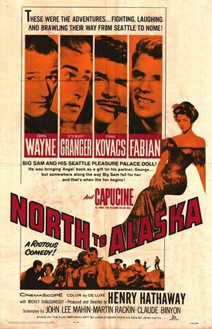 File:1960 - North to Alaska Movie Poster.jpg