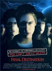 2000 - Final Destination Movie Poster