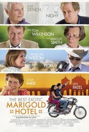 2012 - The Best Exotic Marigold Hotel Movie Poster