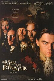 1998 - The Man in the Iron Mask Movie Poster