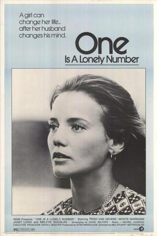 File:1972 - One Is a Lonely Number Movie Poster.jpg